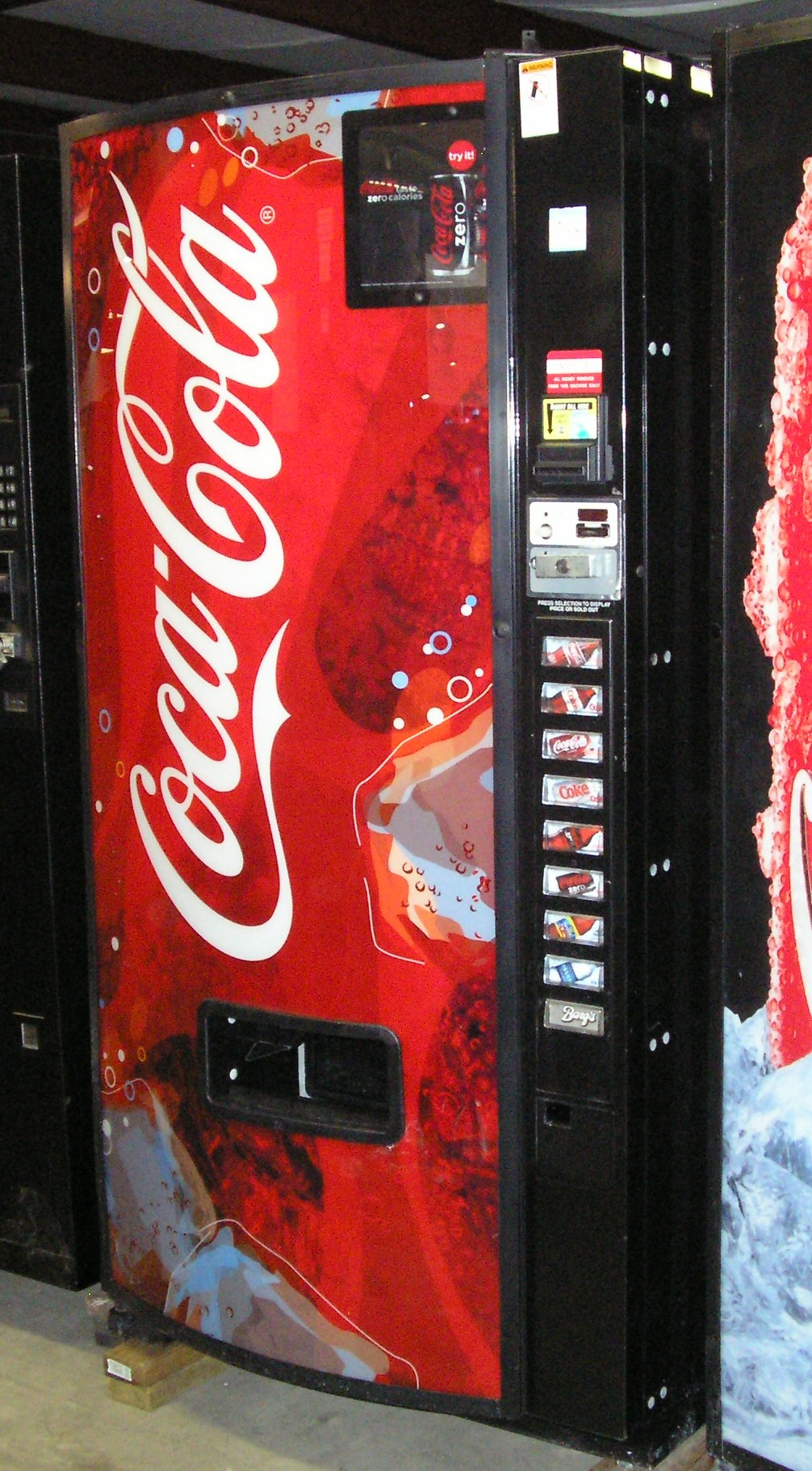 coca colas new vending machine The case study of coca-cola's new vending machine suggests that the company should provide a demand analysis in order to assess price changes and demand for different types of products.