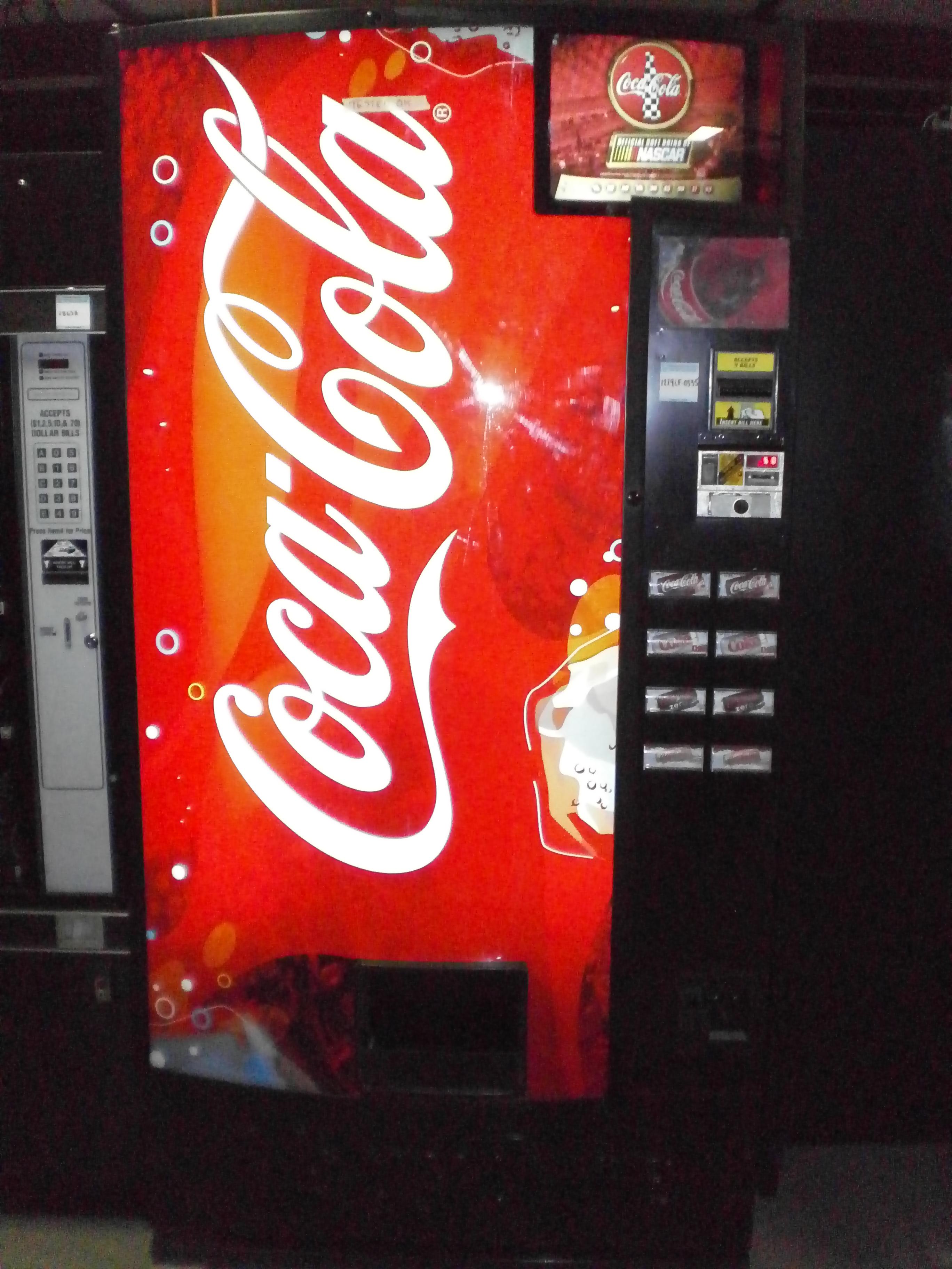 cold soda machine